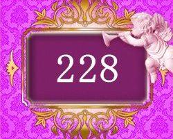 エンジェルナンバー228