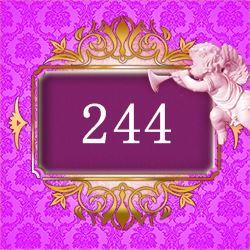エンジェルナンバー244