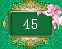 エンジェルナンバー45